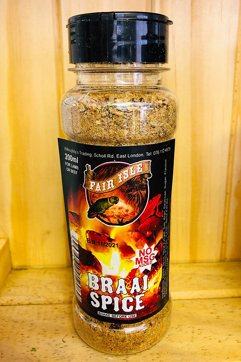 Braai Spice - 200ml
