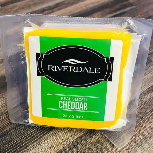 Cheddar Real Cheese Slices (25's)