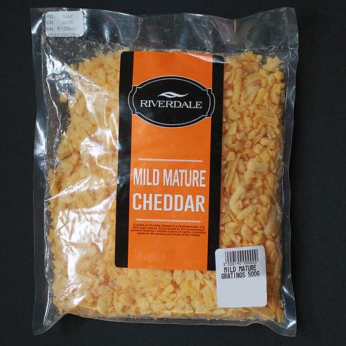 Mild Mature Cheddar Gratings 500 g