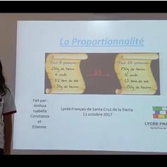 Proportionnalité 6eA