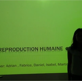 La reproduction humaine CM2 B
