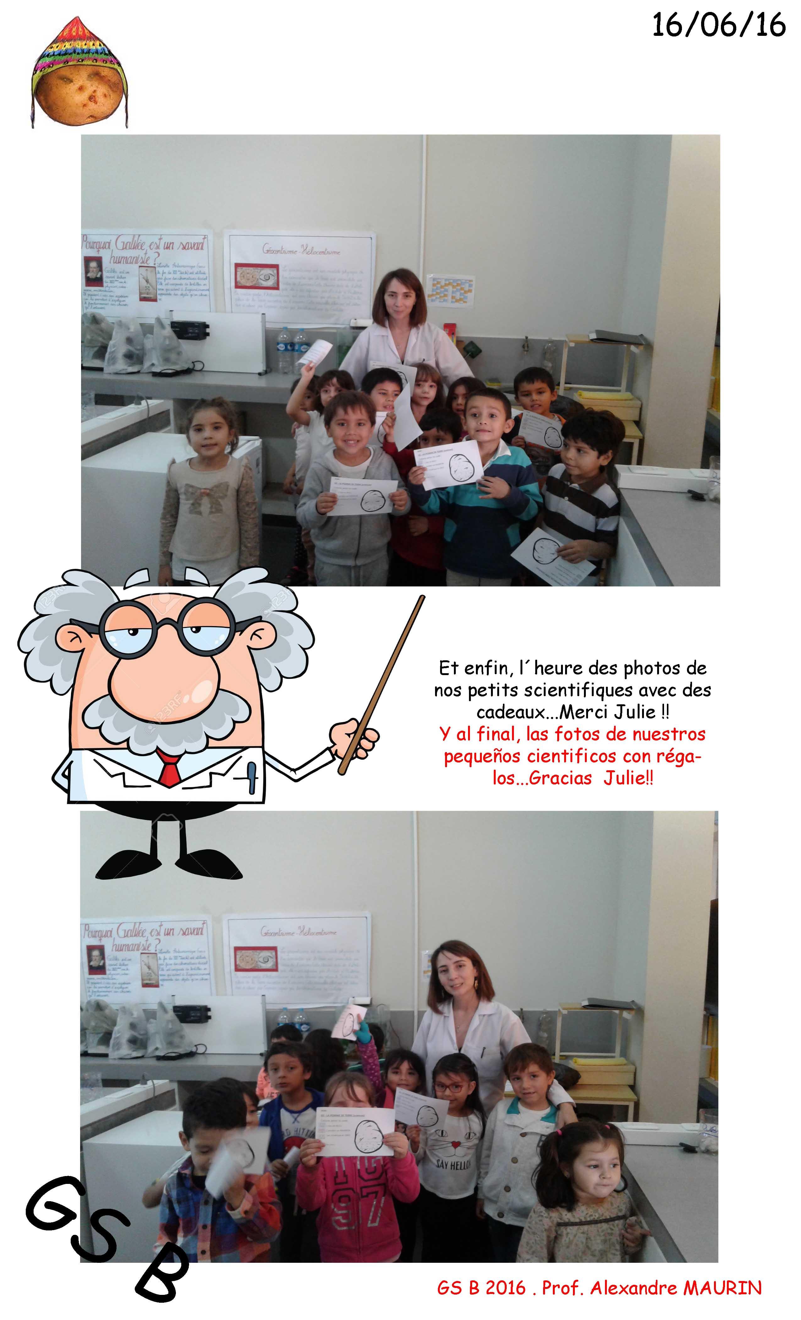 Sortie au laboratoire GSB