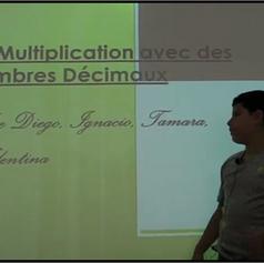 Capsule CM2 B la multiplication avec les décimaux