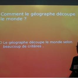 Comment le géographe découpe le monde CM2 B