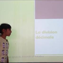 La division décimale CM2 B