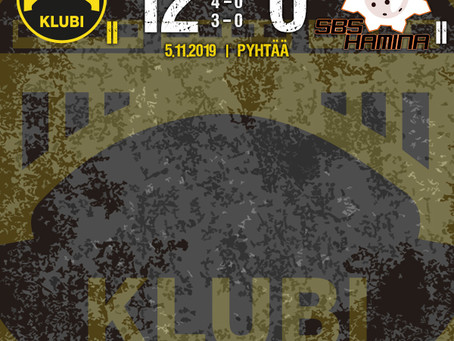Klubi II jatkoi voitokkaasti