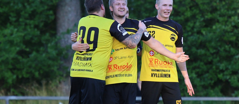 Tappioton FC Klubi nousee ylöspäin!