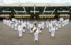 Royal Australian Navy Band Melbourne 202
