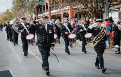 Freedom of Entry Parade in Benalla_