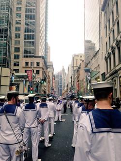 Operation Slipper Street Parade, Sydney