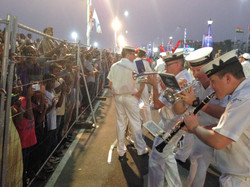 Royal Australian Navy Band in Indian Int
