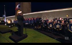 ANZAC Day Dawn Service in Villers-Breten