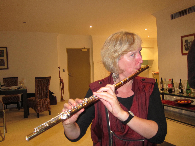 A wonderful teacher - Rebecca Steel