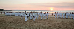 Ceremonial Sunset at Mindil Beach, Darwi
