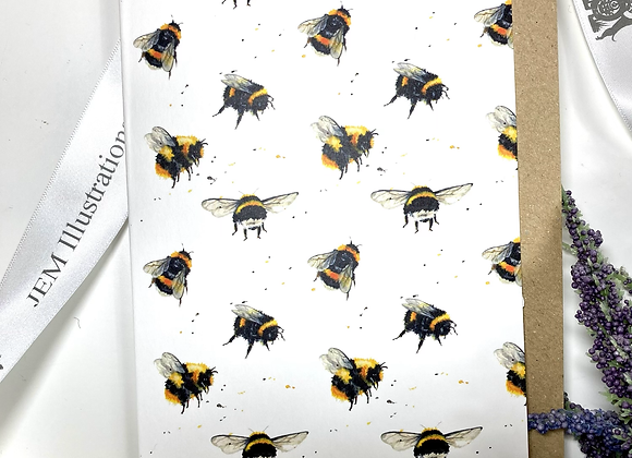 Flight of the bumble bees