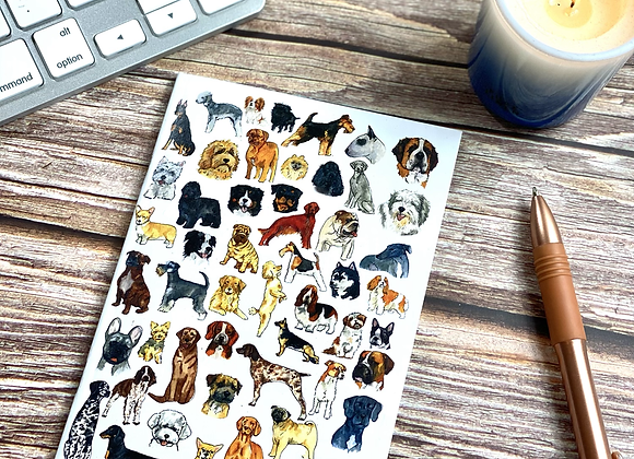 A6 dog notebooks (pack of 3)