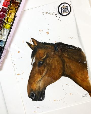 english horse artist