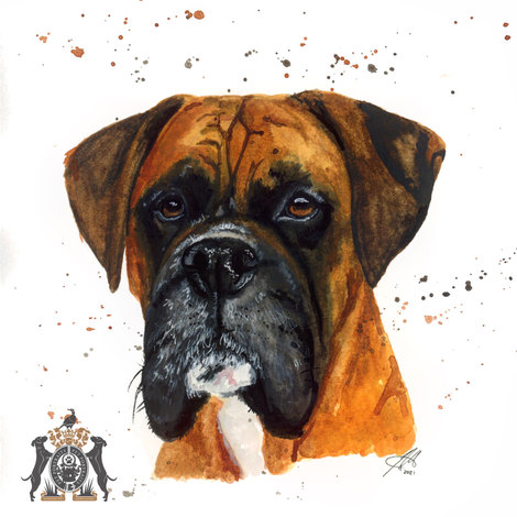 pets in watercolour commissions