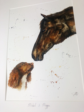 english horse art
