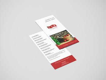 Kochkursprogramm-Flyer Kernhaus-Freutsmoos