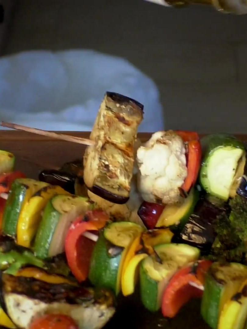 Instagram Video Grill - Gemüsespieße