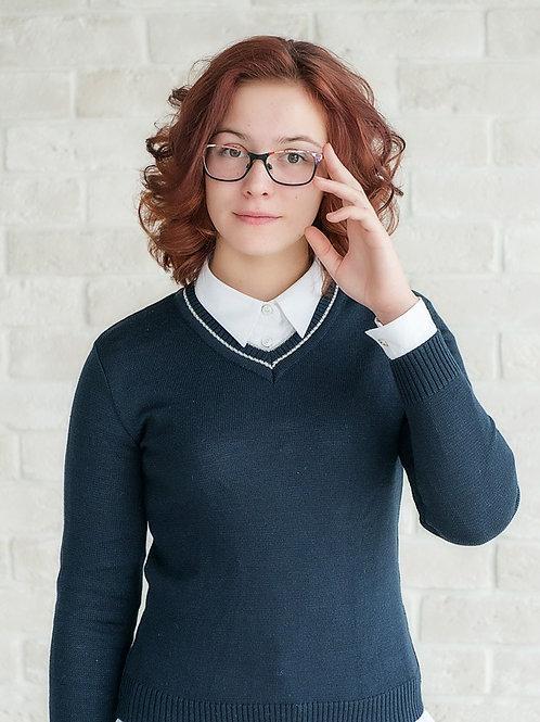 пуловер школьный унисекс