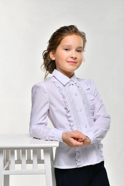 Блузка арт.10912 бел