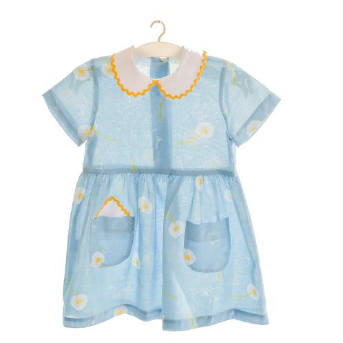 летнее платье из тонкого хлопка