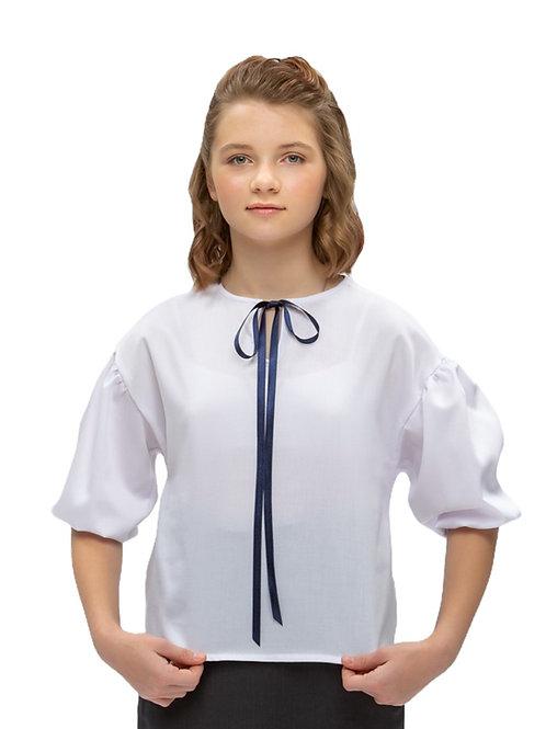 Красивая блузка для подростка в школу