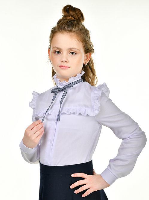 Блузка арт.10206 бел