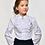 Классическая школьная блузка с жабо арт. 10811