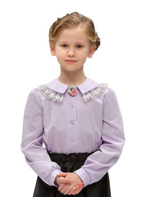 Блузка с красивым воротником