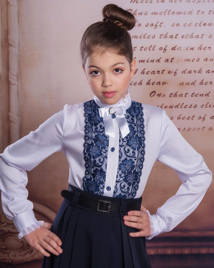 блузки детские для школы от производителя