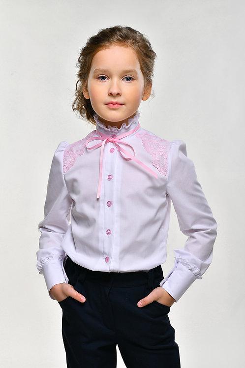 Блузка арт.10910 роз