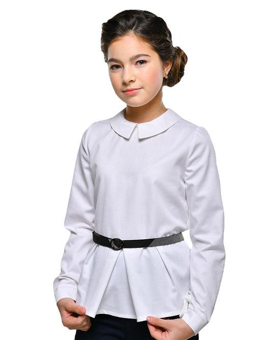 Блузка для средней школы с ремешком