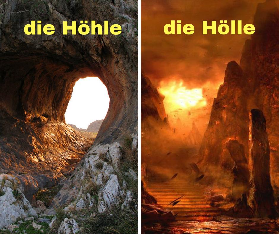Höhle x Hölle