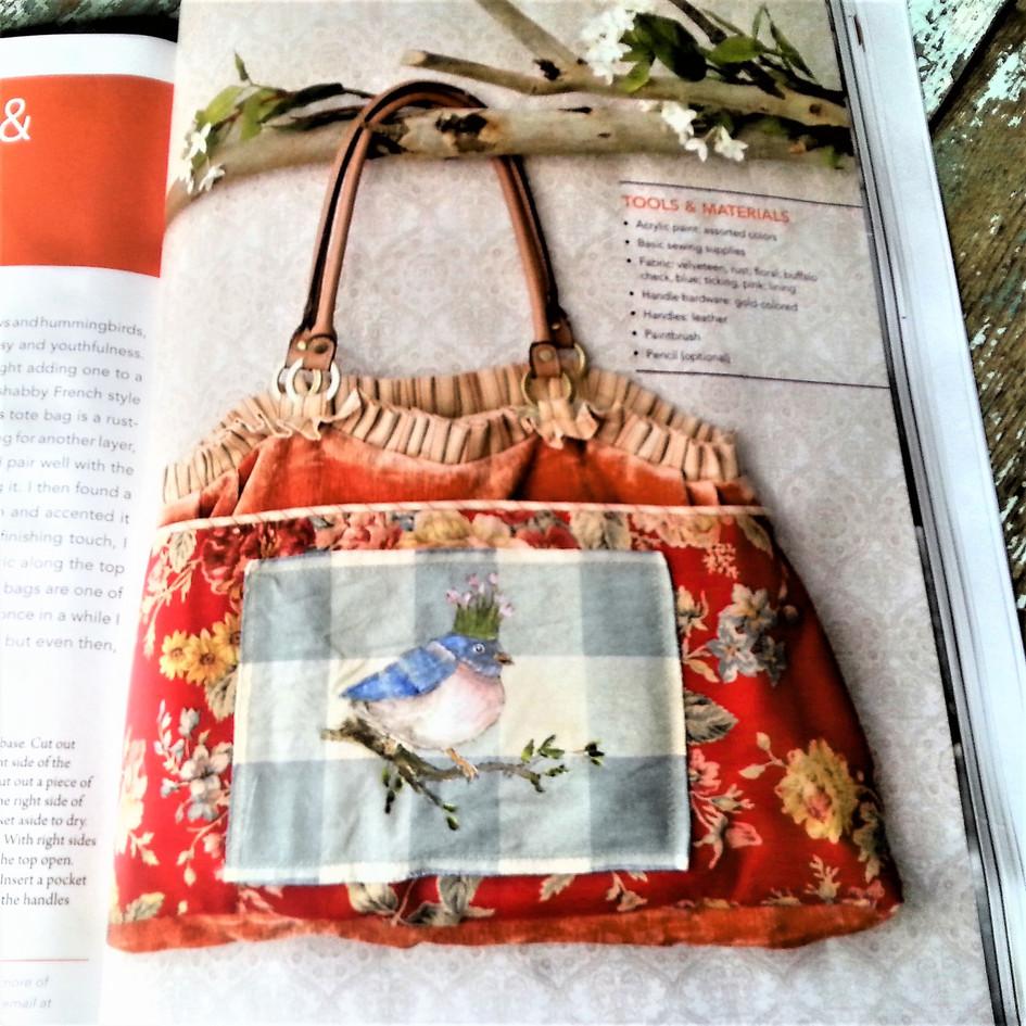 Featured in Haute Bags Magazine