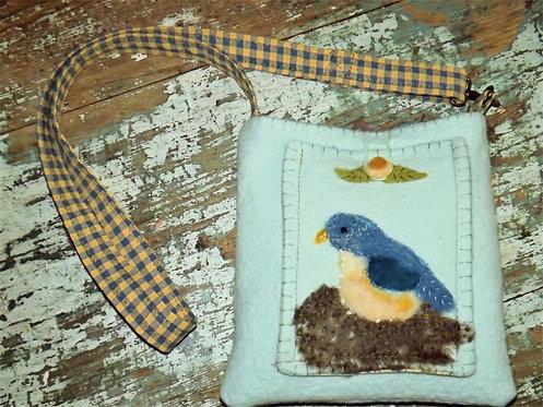 Blue Bird Bag