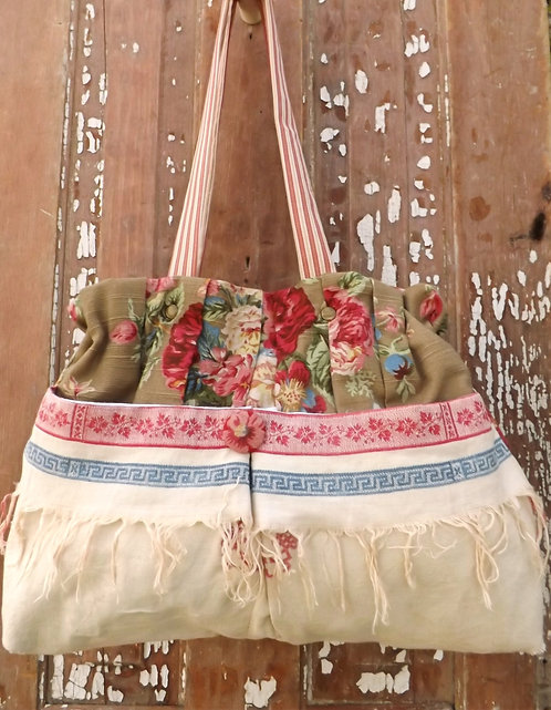 Vintage Hand towel Bag
