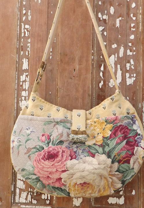 Lavender & Yellow Bag