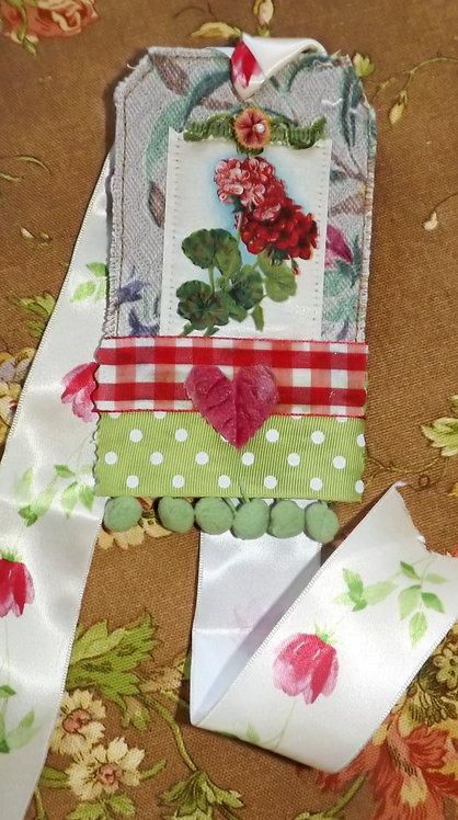 Embellished gift tag #3