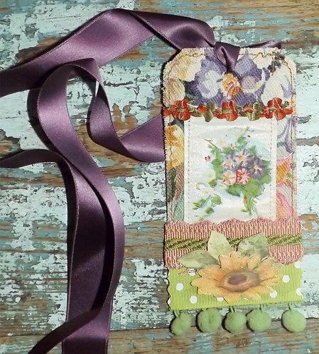 Embellished gift Tag #6