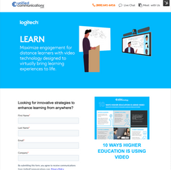 Logitech Higher Education Distance Learn