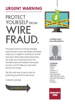 Wire Fraud Post Card