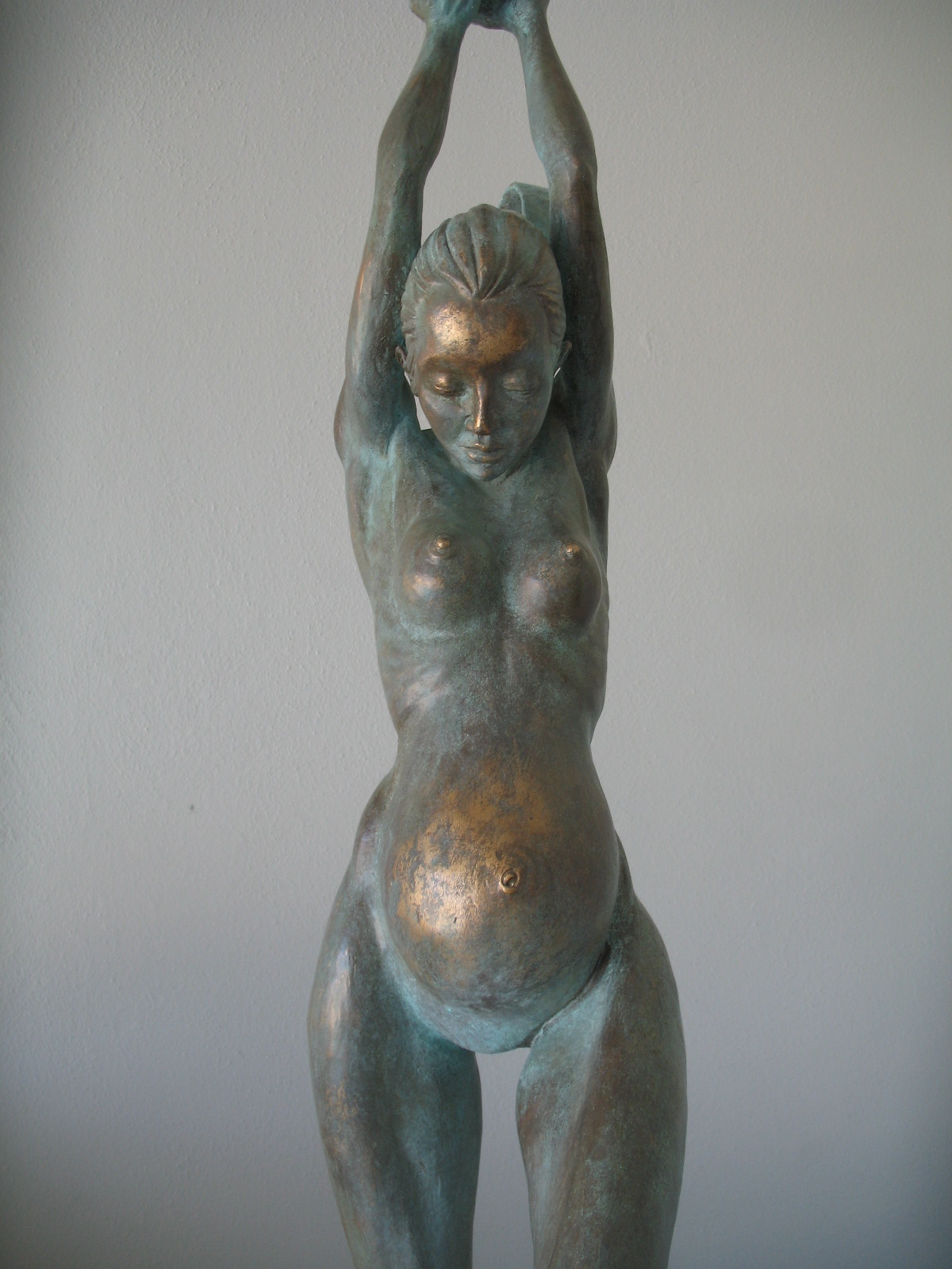 """Eve"" in bronze."