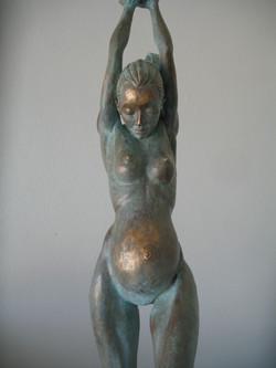 """""""Eve"""" in bronze."""