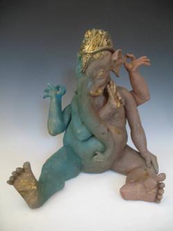 """""""Ganesh W/ Baby Feet."""