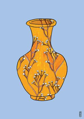 Gysophilla Vase