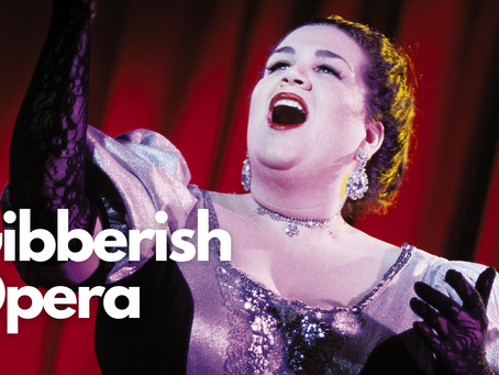 Gibberish Opera: Improv Games From On Stage to Online