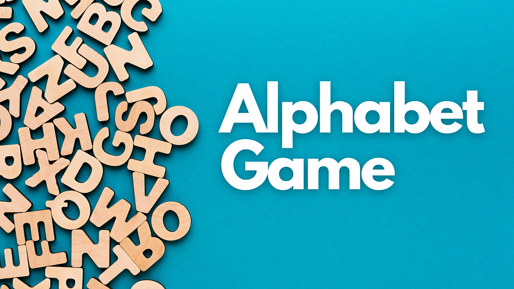 Alphabet game is an improvisational theatre game